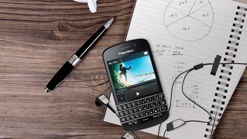 cách sử dụng BlackBerry Q10