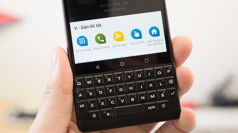 thay bàn phím BlackBerry Key 2