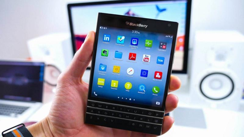 thay màn hình BlackBerry Passport