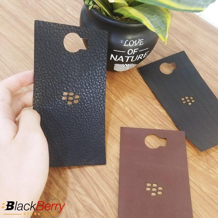 Dán Da BlackBerry Priv Da Bò Thật 100%
